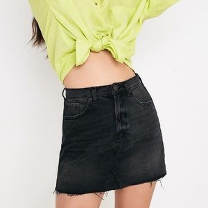 Urban outfitters BDG black denim mini skirt